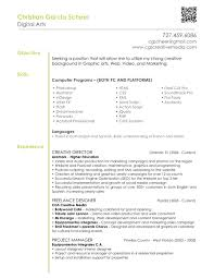 graphic design resume objective template graphic design resume objective