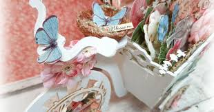 Shabby Blossoming <b>Bicycle</b> Tutorial