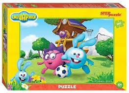 <b>Пазл Step puzzle Смешарики</b> (94057), 160 дет. — купить по ...