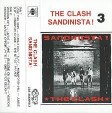 The <b>Clash</b> - <b>Sandinista</b>! <b>3</b> (1989, Cassette) | Discogs
