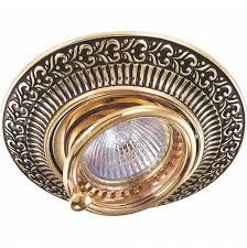 Встраиваемый <b>светильник Novotech</b> Vintage <b>370017</b> – купить в ...