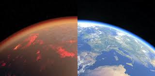 Ancient Earth had a thick, toxic <b>atmosphere</b> like Venus – until it ...