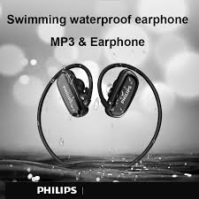 <b>Philips</b> Original 8GB Waterproof <b>MP3</b> Player Bluetooth <b>Headphone</b> ...