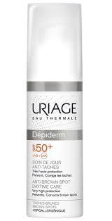 <b>Uriage</b> Depiderm spf 50+ <b>дневной уход</b> против пигментных пятен ...