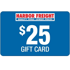 $25 Harbor Freight Gift Card