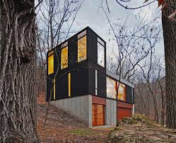 Cabin Designs   Modern House Designs   Page Compact Wisconsin Cabin   a Tower
