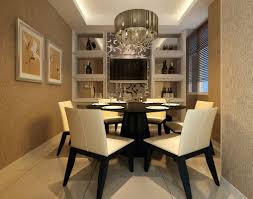 chair dining tables room contemporary: contemporary dining room tables luxury interior design concept with white elegant chair and cool chandelier