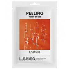 <b>Обновляющая тканевая маска</b> с энзимами, 25 гр L.SANIC ...
