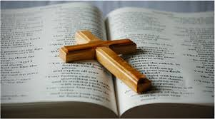 Image result for picture of a cross and bible
