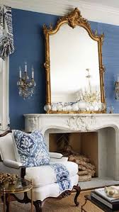 antique furniture in a blue and white decor with antiques blue and white furniture