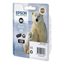 Купить <b>Картридж</b> для струйного принтера <b>Epson</b> Photo <b>Black</b> 26 в ...