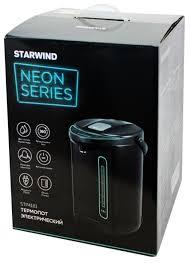 Купить Термопот <b>STARWIND STP4181</b>, <b>темно-серый</b>/<b>бирюзовый</b> ...