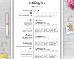 breakupus stunning resume design resume and minimal breakupus handsome ideas about resume design resume cv template beauteous mallory cox is