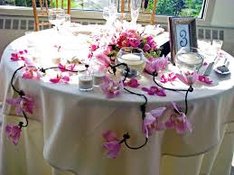 flower arrangements dining room table: creative flower arrangements for dining room design with round dining table ideas