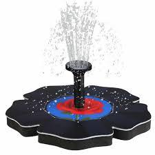 Butterfly Shaped Sprinkler <b>Solar Fountain</b> Bird Bath <b>Water Fountain</b> ...
