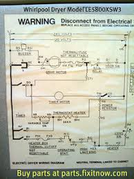 appliantology photo keywords whirlpool whirlpool dryer model le5800xsw3 wiring diagram