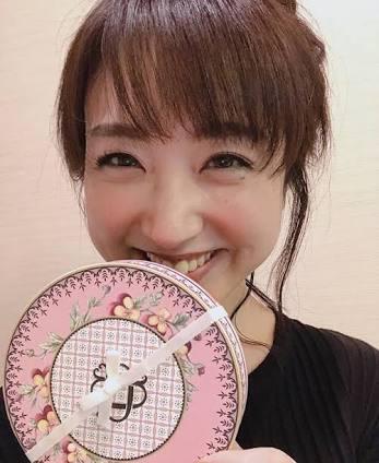 笑顔の川田アナ