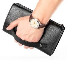 Top Sheepskin <b>Brand Men Wallets</b> Clutch Luxury Genuine Leather ...