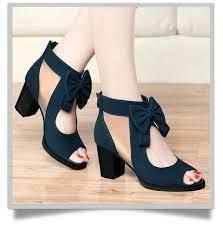 <b>MIUBU</b> Free Shipping <b>Women's Summer</b> Shoes Thick Heel Open ...