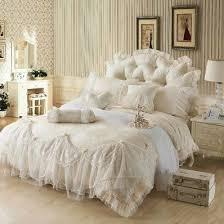 <b>Ice</b> Cream Girls Lace Ruffle Tulle Bowtie Jacquard <b>Bedding</b> ...