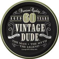 <b>60th Birthday</b> Party Supplies - <b>60th Birthday</b> Ideas, Decorations ...