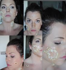step 1 zombie makeup tutorial erin ashley