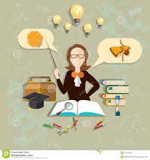 interior design college major awesome interior education and science teacher of biology vector illustration stock