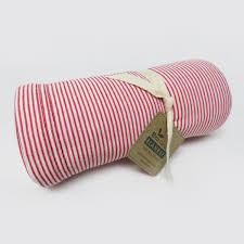 <b>Red White</b> Stripe Pattern Eco <b>Baby</b> Blanket - Fashion Hometex