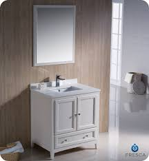 traditional style antique white bathroom: fresca oxford  quot traditional bathroom vanity white finish