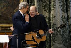 Awkward: John Kerry Brings <b>James Taylor</b> to Paris, Sings 'You've ...