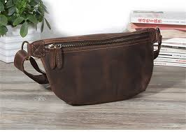 <b>PNDME vintage</b> simple <b>genuine leather</b> men's chest bag casual ...