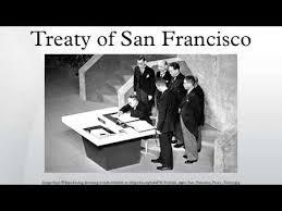 「1952, sanfrancisco peace treaty」の画像検索結果