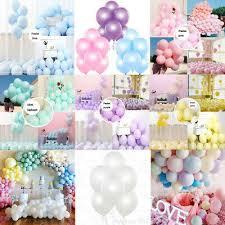 10 inch <b>latex</b> balloon -12 <b>colors</b> Pack of <b>12 Pcs</b> party wedding decor ...