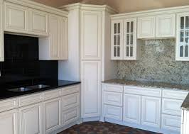 New Doors For Kitchen Units Kitchen Cupboard Door Refinish U Shape White Cabinet Glass Finish