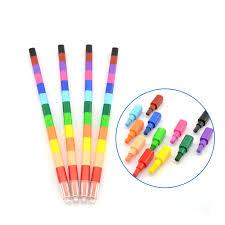 <b>5 pcs</b>/<b>lot</b> Creative Building Blocks Crayon Cute Kawaii Graffiti Pens ...