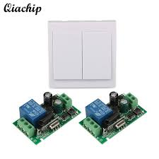 <b>QIACHIP 433Mhz 86 Wall</b> Panel RF Transmitter Remote Control and ...