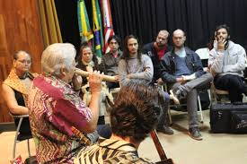 hawaiian culture travels to usc center on public diplomacy for five weeks the ensemble keola beamer and jeff peterson moanalani beamer toured from north to south while on tour the ensemble gave