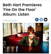 Billboard Magazine – <b>Fire</b> On The Floor exclusive! | <b>Beth Hart</b> Official ...