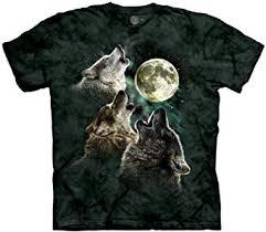 The Mountain Men's Three Wolf Moon Short Sleeve ... - Amazon.com