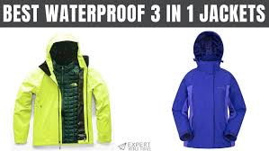 Best <b>Waterproof 3 In 1</b> Jackets: For All Of Your Budgets | Expert ...