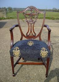 hepplewhite shield dining chairs set: set eight georgian chairs set of  eight georgian hepplewhite design mahogany shield back dining