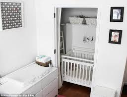 bedroom in closet