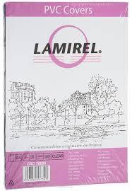 <b>Lamirel</b> LA-78680 <b>Transparent A4 обложка</b> для переплета (100 шт ...