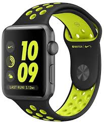<b>Часы Apple Watch</b> Series 2 42mm with <b>Nike</b> Sport Band — купить ...