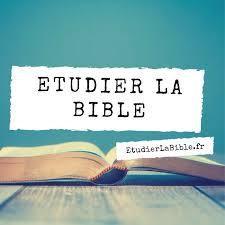 Etudier La Bible