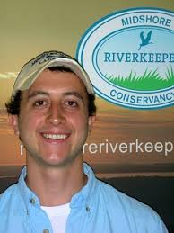 Tim Rosen, a Chesapeake Conservation Corps Volunteers,has joined the Midshore Riverkkeper Conservancy for a one year internship. - Tim-Rosen1