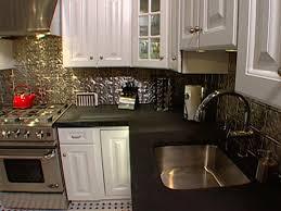 Ceiling Tiles For Kitchen How To Install Ceiling Tiles As A Backsplash Hgtv