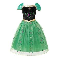 Online Shop Anna Green <b>Princess Dress</b> for <b>Baby Girl</b> Embroidery ...