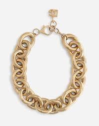 <b>Women's Jewelry</b> and Bijoux   Dolce&Gabbana - Chain <b>choker</b>