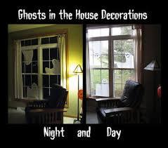love halloween window decor: brimful curiosities ghosts in the house by kazuno kohara easy last minute